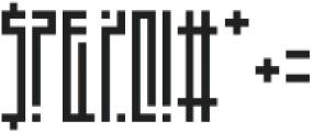 A Dash of Salt otf (400) Font OTHER CHARS