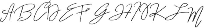 A Paris otf (400) Font UPPERCASE