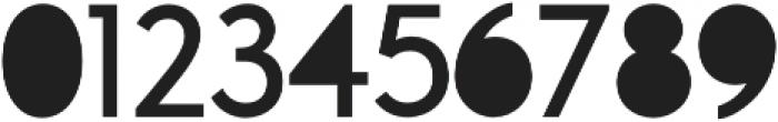 A Pompadour Filled otf (400) Font OTHER CHARS