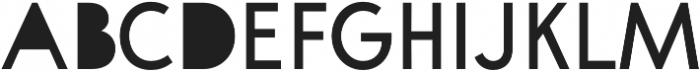 A Pompadour Filled otf (400) Font UPPERCASE