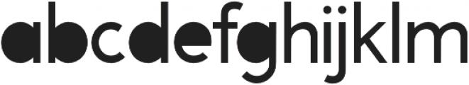 A Pompadour Filled otf (400) Font LOWERCASE