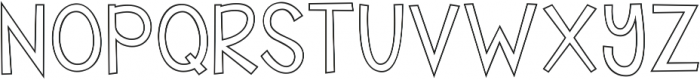A Safe Place to Fall ttf (400) Font UPPERCASE