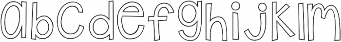 A Safe Place to Fall ttf (400) Font LOWERCASE