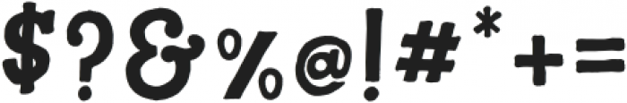 A To Zebra Regular otf (400) Font OTHER CHARS