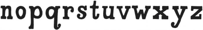 A To Zebra Regular otf (400) Font LOWERCASE