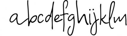 A Bientot   Font Duo with Bonus Logo 1 Font LOWERCASE