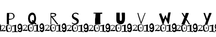 A 2019 Wish Font LOWERCASE