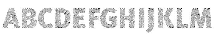 A Bebedera Heavy Font UPPERCASE