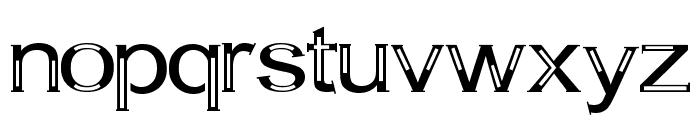 A Bit Empty Font LOWERCASE
