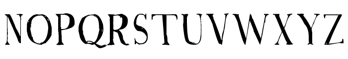 A Font with Serifs Font UPPERCASE