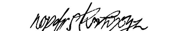 A Glitch In Time Font UPPERCASE