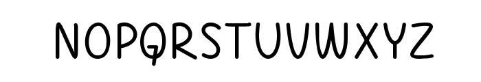 A Little Mixed Up Font UPPERCASE