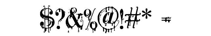 A Lolita Scorned Font OTHER CHARS