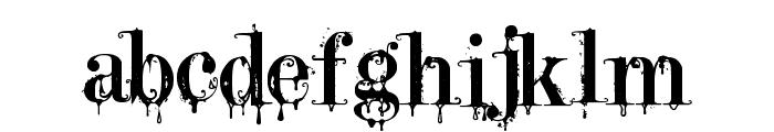 A Lolita Scorned Font LOWERCASE