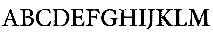 A Monster Free Font LOWERCASE