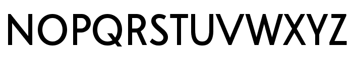 A Pompadour Sample Font UPPERCASE