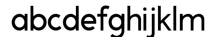 A Pompadour Sample Font LOWERCASE