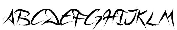 A Quiet Sleep Font UPPERCASE