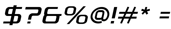 A-Space Demo Italic Font OTHER CHARS