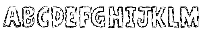 A Stitch Plus Nine Font LOWERCASE