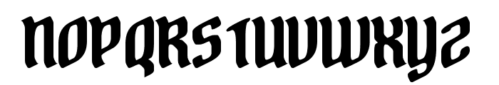 A Stroke of Geneus2 Font UPPERCASE