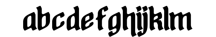 A Stroke of Geneus2 Font LOWERCASE