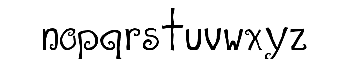 A T  & Love Font LOWERCASE
