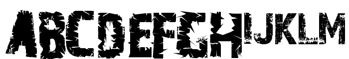 A Trip To Hell And Back Font LOWERCASE