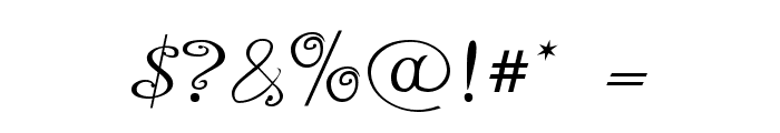 A Yummy Apology Font OTHER CHARS
