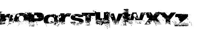 A bite Font UPPERCASE