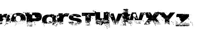 A bite Font LOWERCASE