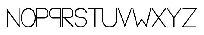A new Heard - LJ-Design Studios Normal Font UPPERCASE