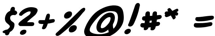 A.C.M.E. Secret Agent Bold Font OTHER CHARS