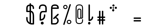 A.D. MONO Font OTHER CHARS