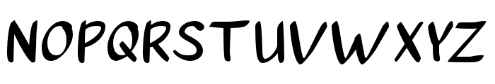 a Autoyes Closely Font UPPERCASE
