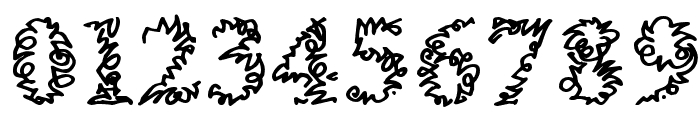 a Morris line Font OTHER CHARS