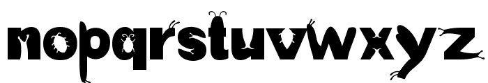 a-bug-s-life Font LOWERCASE