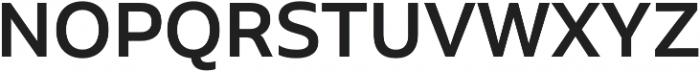 Aalto Sans Essential Medium otf (500) Font UPPERCASE