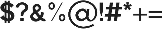 Aariel otf (700) Font OTHER CHARS