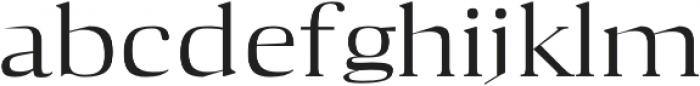 Aaron Medium otf (500) Font LOWERCASE