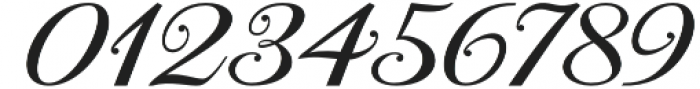 Aaron Script otf (400) Font OTHER CHARS