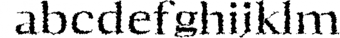Aaron Serif 6 Font Family 4 Font LOWERCASE