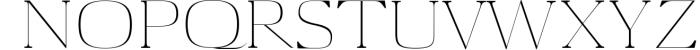 Aaron Serif 6 Font Family 5 Font UPPERCASE