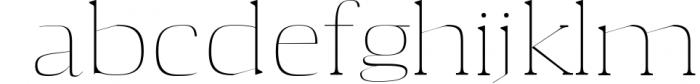 Aaron Serif 6 Font Family 5 Font LOWERCASE