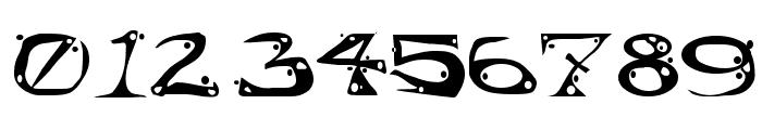 AajaxSurrealFreak Font OTHER CHARS