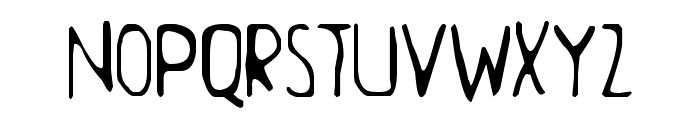 Aamunkoi Font UPPERCASE