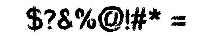 Aardvark Sk8 Font OTHER CHARS