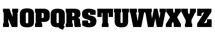 AardvarkBold Font UPPERCASE