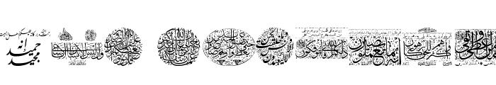 Aayat Quraan_036 Font LOWERCASE