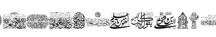 Aayat Quraan_040 Font LOWERCASE